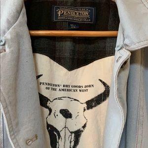 Pendleton Madison A-line Barn Coat